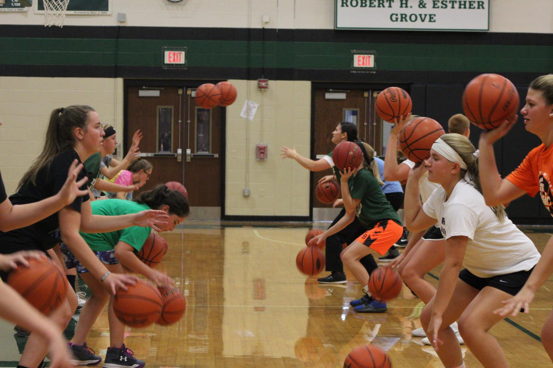 Girls' Pre-Season Basketball